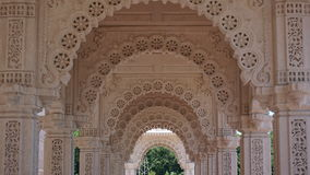 The Akshardham temple in Robbinsville, New Jersey Royalty Free Stock Images