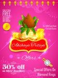 Akshay Tritiya celebration Royalty Free Stock Photos