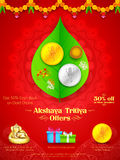 Akshay Tritiya celebration Stock Image