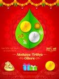 Akshay Tritiya-viering Stock Afbeelding