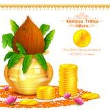 Akshay Tritiya-viering Stock Foto
