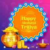 Akshay Tritiya-viering royalty-vrije illustratie
