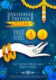 Akshaya Tritiya celebration Sale promotion Stock Photos