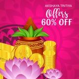 Akshaya Tritiya. Royalty Free Stock Images