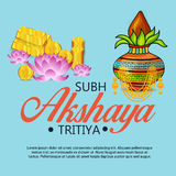 Akshaya Tritiya. Stock Image
