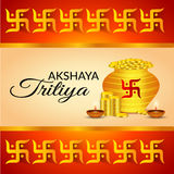 Akshaya Tritiya Royalty Free Stock Image