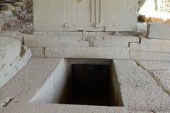 Aksum坟茔在埃塞俄比亚 免版税库存照片