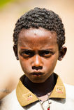 AKSUM的人们,埃塞俄比亚 图库摄影