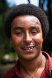 AKSUM的人们,埃塞俄比亚 免版税库存图片