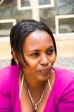 AKSUM的人们,埃塞俄比亚 免版税库存照片