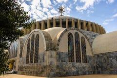 Aksum (阿克苏姆),埃塞俄比亚废墟  免版税库存图片