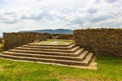Aksum (阿克苏姆),埃塞俄比亚废墟  库存图片
