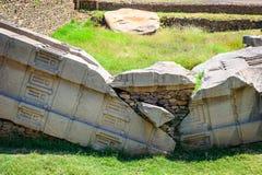 Aksum (Axum),埃塞俄比亚废墟  库存图片