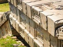 Aksum (Axum),埃塞俄比亚废墟  免版税图库摄影