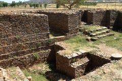 Aksum Dungur宫殿在埃塞俄比亚 图库摄影