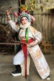 Aktör för Sichuan operakvinnlig Royaltyfri Bild