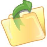 akta uratować ikony Fotografia Stock