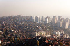 Aktash District of Ankara. The houses of Aktash District of Ankara at the morning Stock Photos