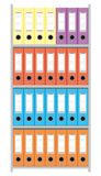 Aktenschrank mit Dateifaltblättern lizenzfreies stockfoto