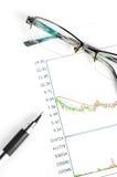 Aktienhandel Lizenzfreies Stockbild