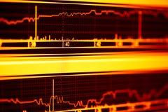 Aktienindex. lizenzfreie stockfotos