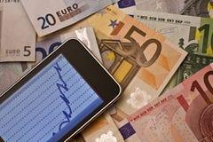 Aktienkurs Lizenzfreie Stockbilder