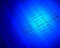 Aktienkurse Lizenzfreie Stockfotografie