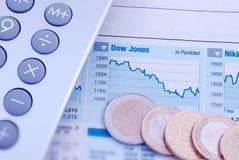Aktienmarkt Lizenzfreie Stockfotos