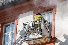 Aktionswoche der bayerischen Feuerwehren 2018 Stockfotos