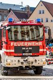 Aktionswoche der bayerischen Feuerwehren 2018 Stockbilder