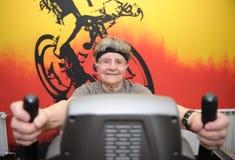 Aktiv pensionär Royaltyfri Fotografi
