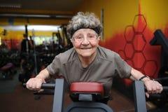 Aktiv pensionär Arkivfoton