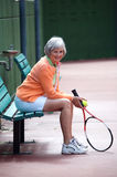 aktiv pensionär Royaltyfria Foton