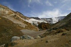 aktiv vulkan Fotografering för Bildbyråer