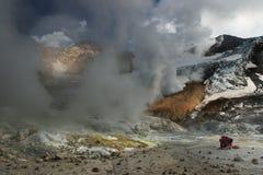 aktiv vulkan Royaltyfri Bild