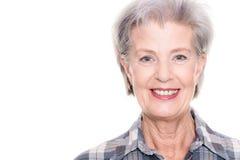 Aktive ältere Frau Stockbilder