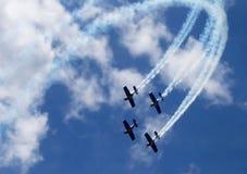 Aktive Flugzeuge Lizenzfreie Stockbilder