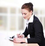 Aktive Geschäftsfrau Lizenzfreies Stockfoto