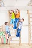 Aktive Kinder Stockbild