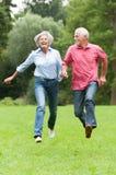 Aktive Ältere Stockfoto