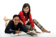 Aktive Paare Lizenzfreies Stockbild
