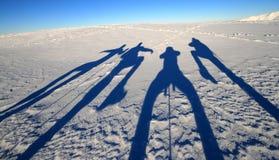 Aktive Schatten Stockbild
