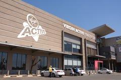 Aktive Turnhalle der Jungfrau in Roodepoort, Johannesburg stockfotografie