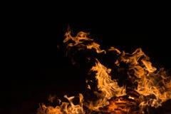 aktivera flammor Royaltyfria Foton