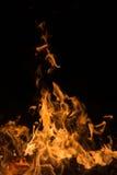 aktivera flammor Fotografering för Bildbyråer