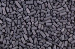 Aktiverat kolpartikelslut upp Royaltyfria Foton