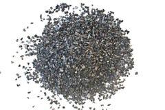 Aktiverat kol för textur för vattenbehandling Fotografering för Bildbyråer