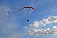 Aktivität hoch im Himmel Stockfotografie