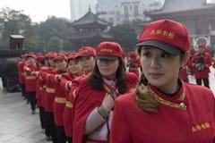 Aktivitet för exponering för propaganda för entusiaster för flygfotografering för Mianyang berömd mellanmålris Royaltyfri Fotografi