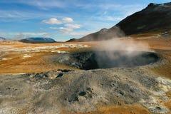 aktivitet geotermiska iceland royaltyfria foton